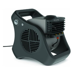 Lasko Products - Outdoor Misting Fan - Outdoor Misting Fan creates a Cool Breeze  Ideal for Picnics  Decks & Patios  Sports  and DIY Projects  Refreshing Comfort for a Large Area  Reduces Air Temperature up to 25 degrees   90 degree Pivot directs Mist Flow  Automatic Louvers create Wide Sweep