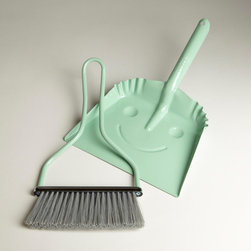 Mint Smiley Dustpan - I have to get myself one of these. It kind of makes you want to do your chores, which, let's face it, aren't very inviting during the dog days of summer. That smiley face makes me want to smile too.