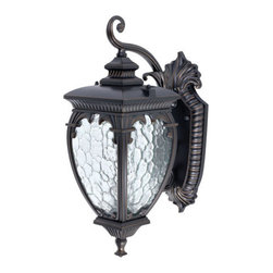 Globe Electric - Globe Electric 42698 Ancienne 1 Light Outdoor Wall Sconce - Features: