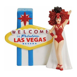 WL - 4.25 Inch Welcome to Las Vegas Decorated Salt and Pepper Shakers - This gorgeous 4.25 Inch Welcome to Las Vegas Decorated Salt and Pepper Shakers has the finest details and highest quality you will find anywhere! 4.25 Inch Welcome to Las Vegas Decorated Salt and Pepper Shakers is truly remarkable.