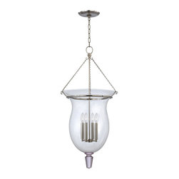 Hudson Valley Lighting - Hudson Valley Lighting 843-PN Ulster 4 Light Chandelier, Polished Nickel - This 4 light Chandelier from the Ulster collection by Hudson Valley Lighting will enhance your home with a perfect mix of form and function. The features include a Polished Nickel finish applied by experts. This item qualifies for free shipping!
