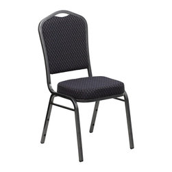 Flash Furniture - Flash Furniture Banquet Stack Chairs Banquet Stack Chairs X-GG-KB-62E-VS-10C-FH - This is one tough chair that will withstand the rigors of time. With a frame that will hold in excess of 500 lbs., the HERCULES Series Banquet Chair is one of the strongest banquet chairs on the market. You can make use of banquet chairs for many kinds of occasions. This banquet chair can be used in Church, Banquet Halls, Wedding Ceremonies, Training Rooms, Conference Meetings, Hotels, Conventions, Schools and any other gathering for practical seating arrangements. The banquet chair is also great for home usage from small to large gatherings. For any environment that you use a banquet chair it will put your guests at a greater comfort level with the padded seat and back. Another advantage is the stacking capability that allows you to move the chairs out of the way when not in use. With offerings of comfort and durability, you can be assured that you can enjoy this elegant stacking banquet chair for years to come. [HF-C01-SV-E26-BK-GG]