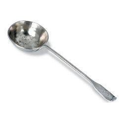 Match Pewter - Antique Ladle by Match Pewter - In a world dominated by mass production, Match pewter is handmade by artisans in Northern Italy. Each piece bears a stamped symbol from the region in which it was made.