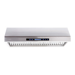 None - Cavaliere-Euro AP238-PS61-30 30-inch Under Cabinet Range Hood - This 30-inch under cabinet range hood is an excellent way to complete your kitchen and comes with a smattering of features. This range hood comes with a remote control and heat sensitive auto speed function controls.
