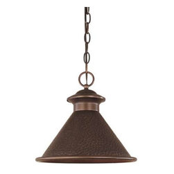 World Imports - World Imports Dark Sky Essen 1-Light Dark Sky Pendant, Antique Copper (9008-86) - World Imports 9008-86 Dark Sky Essen 1 Light Dark Sky Pendant, Antique Copper
