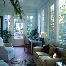 Traditional Sunroom by Soorikian Architecture