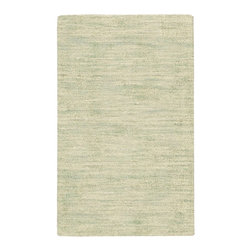 "Waverly - Waverly 10 Grand Suite WGS01 2'3"" x 3'9"" Mist Area Rug 20158 - The Ottoman design Waverly rug by Nourison is a versatile hand-loomed wool rug with a fabulous textured, wonderful to look at and a pleasure to walk on In a luminous celadon hue infused with an exciting interplay of light and shadow to create an invitingly intimate environment with a fashion-forward flair."