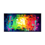 Matthew's Art Gallery - Oil Painting Abstract Art on Canvas Home Decor Mixed Colors - The Painting:  Mixed Colors
