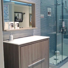 Contemporary Bathroom Vanities And Sink Consoles by Bath Trends
