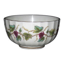 Royal Worcester - Royal Worcester Bacchanal (Cream) Open Sugar Bowl - Royal Worcester Bacchanal (Cream) Open Sugar Bowl