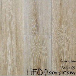 Garrison French Connection - French Connection Paris wire-brushed white oak hardwood. Available at HFOfloors.com.