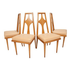 Unknown - Consigned Mid Century Modern Scan Maple Dining Chairs - • Mid Century Scandanavian Modern
