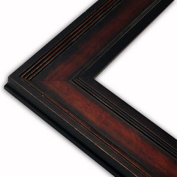 The Frame Guys - Oxford Brown/Copper Picture Frame-Solid Wood, 16x20 - *Oxford Brown/Copper Picture Frame-Solid Wood, 16x20