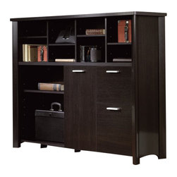 Sauder - Sauder Aspen Credenza in Wind Oak - Sauder - Storage Units - 410849 -