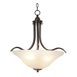 Premier - Four Light Sanibel 21 inch Pendant Fixture - Oil Rubbed Bronze - Premier 617270 21in. W by 22in. H Sanibel Lighting Collection 4 Light Pendant, Oil Rubbed Bronze.