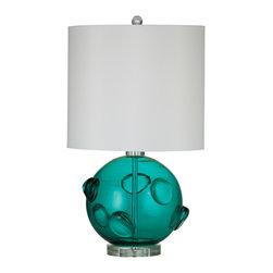 Bassett Mirror - Bassett Mirror Brooks Table Lamp L2734TEC - Bassett Mirror Brooks Table Lamp L2734TEC