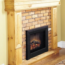 Modern Indoor Fireplaces by Ventless Fireplace Pros