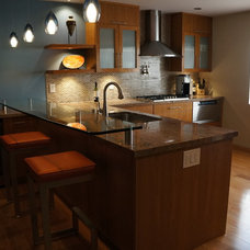 Contemporary Kitchen Cabinets by Sainz Cabinets