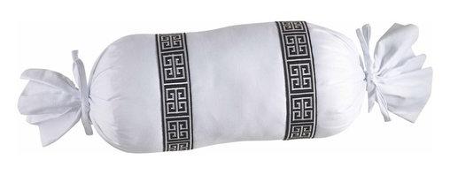 Mystic Valley - Aegean - Neckroll Pillow by Mystic Valley Traders - The Aegean, by Mystic Home