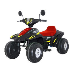 """CTM Homecare Product, Inc. - Twi Rider Racer - Features: -Beach racer. -Material: Plastic. -Sideview mirrors. -Sound button, accelerator pedal. -Forward / reverse switch. -High / low speed switch. -Do not ride on grass, riders are intended to be used on smooth, level concrete surfaces. -3 Month parts warranty. Specifications: -Number of seats: 2. -Recommended age: 5 - 9 Years old. -Weight capacity: 110 lbs. -Speed: 3 - 7 km/h. -Charger: DC 12V. 1,000MA. -Charging time: Approx.10 hours. -Battery: (2) 6V. 12Ah. -Travel time: 90 - 120 minutes. -Motor: (2) DC 6V. -Wheel: 11"""". -Overall dimensions: 41"""" H x 24"""" W x 29"""" D, 27 lbs."""