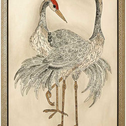 Paragon Decor - Feathered Majesty Artwork - Exclusive Hand Painted Watercolor