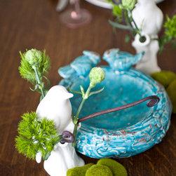 Bird Tablescape - Liz Donnelly