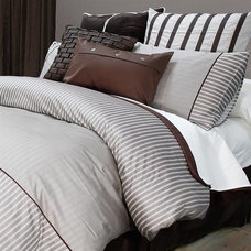 Contemporary Bedding by PileOfPillows.com