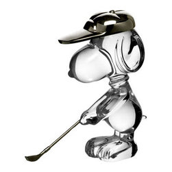 Baccarat - Baccarat Snoopy Golfing  Fifth In Series - Baccarat Snoopy Golfing  Fifth In Series