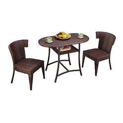 Panama Jack Key Biscayne Honeymoon 3-Piece Bistro Set