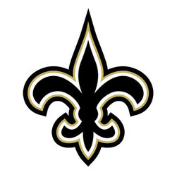 Brewster Home Fashions - NFL New Orleans Saints Teammate Logo Wall Sticker Decal - FEATURES: