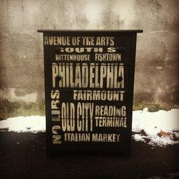 "Philly ""subway"" dresser - eastcote lane"