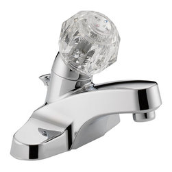 Delta Single Handle Lavatory Faucet - P188621LF - Getting ready in the morning is far from routine when you're surrounded by a room and in the company of a faucet that reflects your personal style