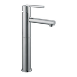 DHI-Corp - Geneva Vessel Lavatory Faucet, Polished Chrome - The Design House 525568 Geneva Vessel Lavatory Faucet features a single handle design, single hole mount and brass pop-up for sealing your drain. This faucet's body is made of brass and the handles are made of zinc alloy. Finished in polished chrome, this faucet is refined and modern with a ceramic disc cartridge and brass waterways. The brass waterways contain zinc and copper which are known to prevent antimicrobial growth ensuring safe and clean water for your family. Compared to the 1-5 year lifespan of traditional faucets, ceramic disc faucets can last up to 30 years and provide ultimate protection against corrosion to the water valve. The 1.3-gallon per minute flow rate ensures a steady water flow after years of everyday use and the high vaulted spout extends 5.4-inches which leaves plenty of room for washing your hands. This faucet has a quarter turn stop lever handle operation and is UPC, ADA, Ab-1953, and lead-free and cUPC compliant. The Design House 525568 Geneva Vessel Lavatory Faucet comes with a lifetime limited warranty that protects against defects in materials and workmanship. Design House offers products in multiple home decor categories including lighting, ceiling fans, hardware and plumbing products. With years of hands-on experience, Design House understands every aspect of the home decor industry, and devotes itself to providing quality products across the home decor spectrum. Providing value to their customers, Design House uses industry leading merchandising solutions and innovative programs. Design House is committed to providing high quality products for your home improvement projects.