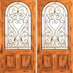 """Double Door, Exterior, Knotty Alder Radius Lite 2 Panel - SKU#SW-79_2BrandAAWDoor TypeExteriorManufacturer CollectionWestern-Santa Fe Entry DoorsDoor ModelDoor MaterialWoodWoodgrainKnotty AlderVeneerPrice1940Door Size Options2(30"""") x 80"""" (5'-0"""" x 6'-8"""")  $02(32"""") x 80"""" (5'-4"""" x 6'-8"""")  $02(36"""") x 80"""" (6'-0"""" x 6'-8"""")  +$202(42"""") x 80"""" (7'-0"""" x 6'-8"""")  +$2402(36"""") x 84"""" (6'-0"""" x 7'-0"""")  +$2002(30"""") x 96"""" (5'-0"""" x 8'-0"""")  +$5602(32"""") x 96"""" (5'-4"""" x 8'-0"""")  +$5602(36"""") x 96"""" (6'-0"""" x 8'-0"""")  +$5802(42"""") x 96"""" (7'-0"""" x 8'-0"""")  +$980Core TypeSolidDoor StyleRusticDoor Lite StyleRadius Lite , 2/3 LiteDoor Panel Style2 PanelHome Style MatchingSouthwest , Log , Pueblo , WesternDoor ConstructionTrue Stile and RailPrehanging OptionsPrehung , SlabPrehung ConfigurationDouble DoorDoor Thickness (Inches)1.75Glass Thickness (Inches)1/4Glass TypeSingle GlazedGlass CamingGlass FeaturesGlass StyleGlass TextureClearGlass ObscurityDoor FeaturesDoor ApprovalsDoor FinishesDoor AccessoriesWeight (lbs)680Crating Size25"""" (w)x 108"""" (l)x 52"""" (h)Lead TimeSlab Doors: 7 daysPrehung:14 daysPrefinished, PreHung:21 daysWarranty1 Year Limited Manufacturer WarrantyHere you can download warranty PDF document."""