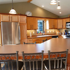 Traditional Kitchen by Degnan Design Builders, Inc