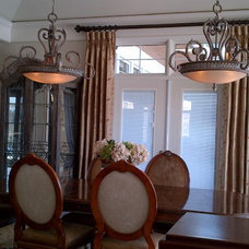 Traditional Window Treatments by Sheila's Window Toppers & More Ltd