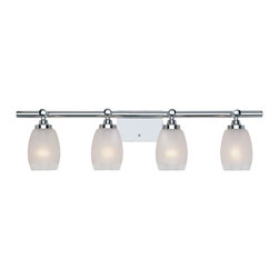 Designers Fountain - Designers Fountain Astoria Bathroom Lighting Fixture in Chrome - Shown in picture: Astoria Bathroom Light in Chrome finish