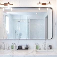 Modern Bathroom Mirrors by Aguirre Design
