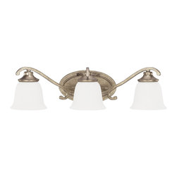 Capital Lighting - Capital Lighting Montclaire Traditional Bathroom / Vanity Light X-421-YM3928 - Capital Lighting Montclaire Traditional Bathroom / Vanity Light X-421-YM3928