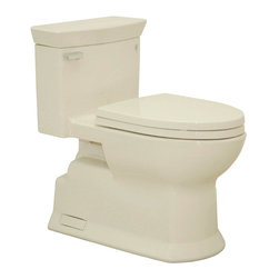 TOTO - TOTO MS964214CEFG#03 Eco Soiree Elongated One Piece Toilet with Sanagloss, Bone - TOTO MS964214CEFG#03 Eco Soiree Elongated One Piece Toilet with Sanagloss, Bone When it comes to Toto, being just the newest and most advanced product has never been nor needed to be the primary focus. Toto's ideas start with the people, and discovering what they need and want to help them in their daily lives. The days of things being pretty just for pretty's sake are over. When it comes to Toto you will get it all. A beautiful design, with high quality parts, inside and out, that will last longer than you ever expected. Toto is the worldwide leader in plumbing, and although they are known for their Toilets and unique washlets, Toto carries everything from sinks and faucets, to bathroom accessories and urinals with flushometers. So whether it be a replacement toilet seat, a new bath tub or a whole new, higher efficiency money saving toilet, Toto has what you need, at a reasonable price.