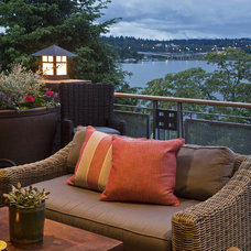 Traditional Patio by Shuler Architecture