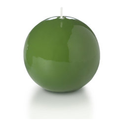 "Neo-Image Candlelight Ltd - Set of 6 - Yummi Gloss Sphere Ball Candles - 16 Colors, Green Tea, 2.8 - Our unscented 2.8"" High Gloss Sphere Candles are ideal when creating a beautiful candlelight arrangement for the home or wedding decor.  Available in 7 trendy High Gloss candle colors hand over dipped with white core to match and compliment your home decor or wedding centerpiece decoration."