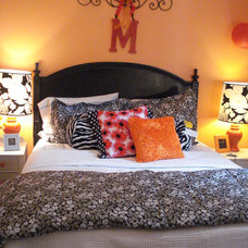 Eclectic Bedroom by Suzanna Ivey Design