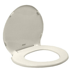 American Standard - American Standard 5330.010.222 Champion Slow Close Round Seat & Cover, Linen - This American Standard 5330.010.222 Champion Slow Close Round Front Seat with Cover is part of the Additional Accessories collection, and comes in a beautiful Linen finish. This slow-close toilet seat and cover feature an easy lift-off cleaning feature, an attractive design that allows you to coordinate it with any bath decor, and a construction that allows you to install it on any conventional round-front toilet.