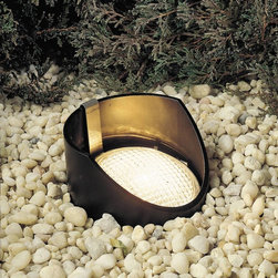 Kichler - Kichler No Family Association Outdoor Lighting Fixture - Shown in picture: In-Ground 1-Lt 12V in Black Material (Not Painted)