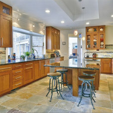 eclectic kitchen cabinets by JoAnn Lyles, CKD  -Riverhead Design Showroom