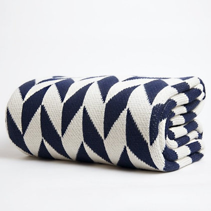 modern throws by Nube Green