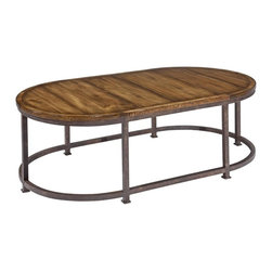 EuroLux Home - New Casual Cocktail Coffee Table Acacia - Product Details