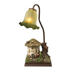 Sterling Industries - Sterling Industries 93-19360 Fairytale House Accent Lamp - Lamp (1)