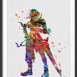 KidsPlayHome - Final Fantasy Tidus Signed Prnt Kids Wall Art - Playroom Art Print
